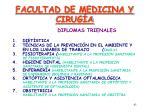 facultad de medicina y cirug a