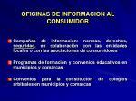 oficinas de informacion al consumidor30