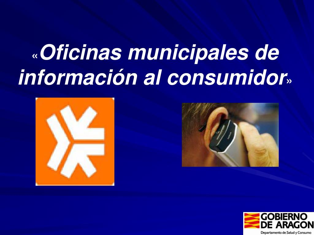 oficinas municipales de informaci n al consumidor l.