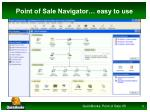 point of sale navigator easy to use