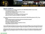 academic guidance ay1210