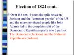 election of 1824 cont6