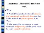 sectional differences increase cont20