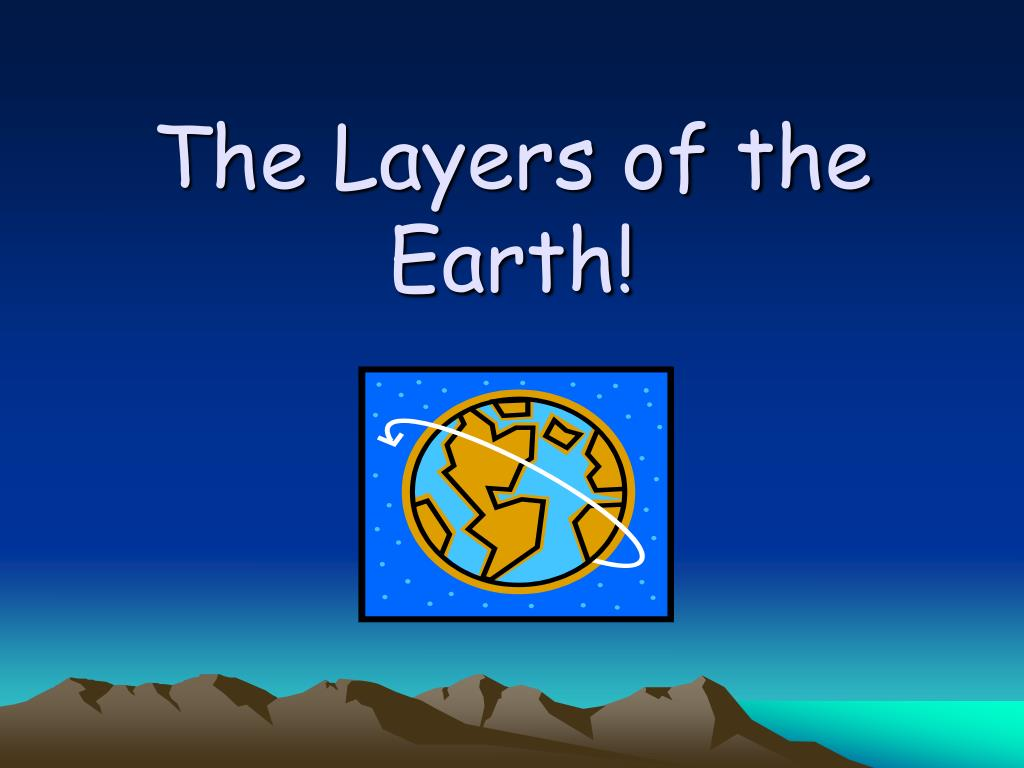 the layers of the earth l.