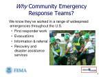 why community emergency response teams6