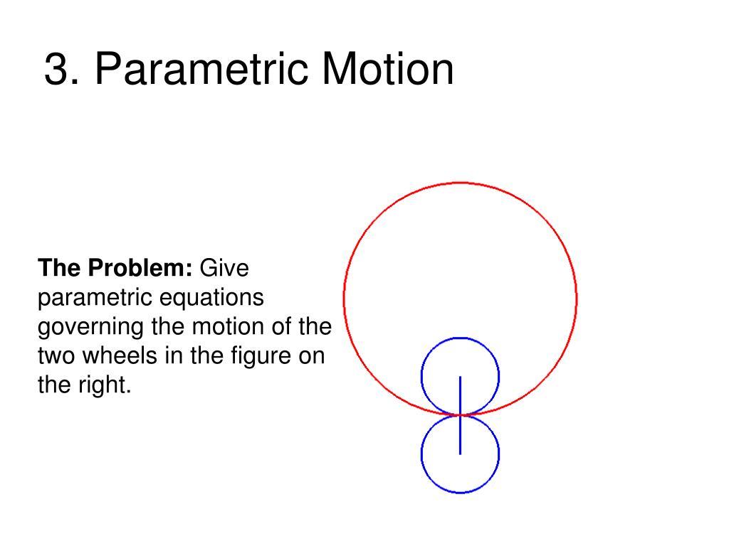 3. Parametric Motion