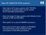 new hp e3000 pa 8700 systems