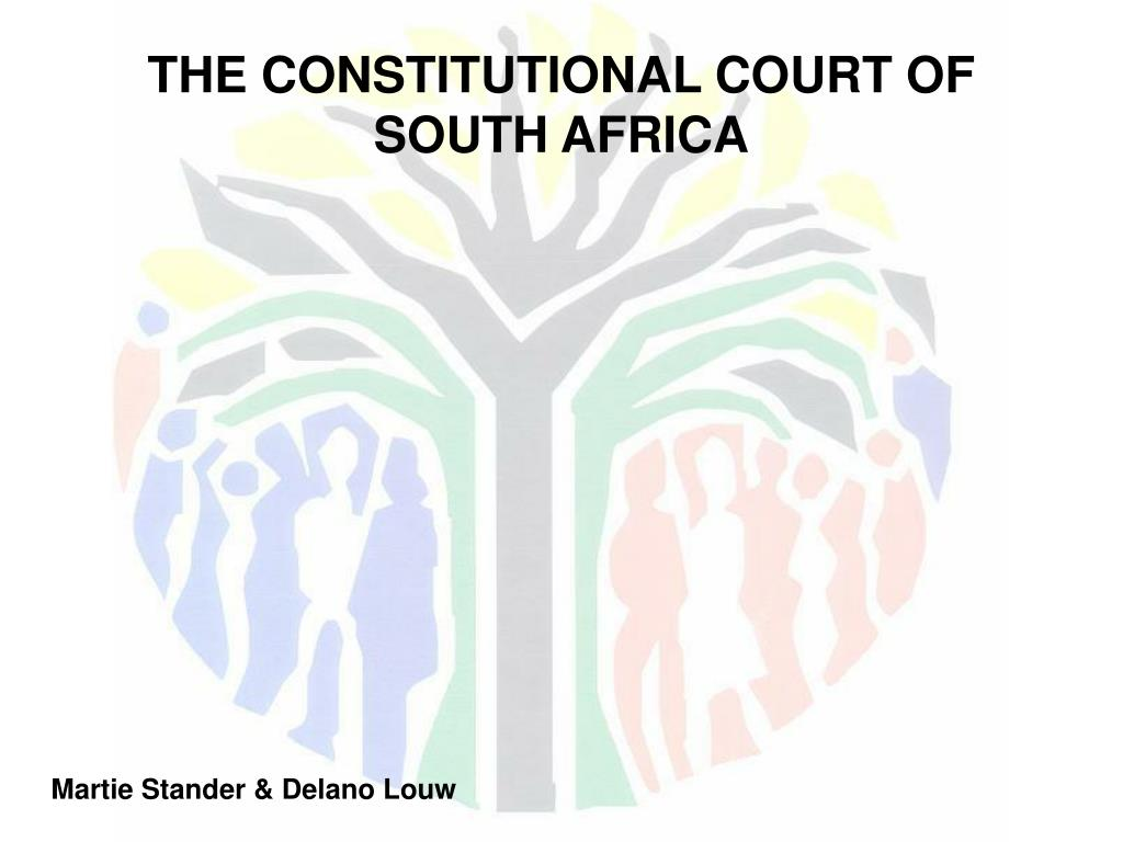 the constitutional court of south africa l.