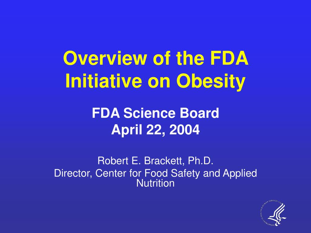 overview of the fda initiative on obesity l.