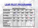 leap pilot programme