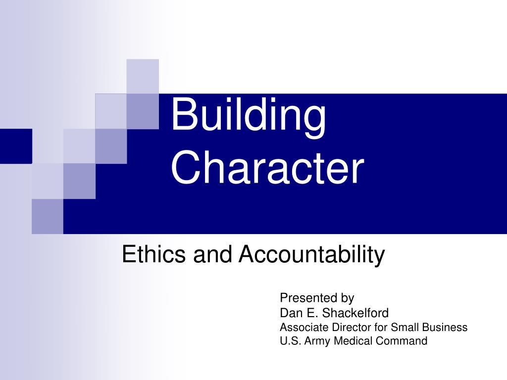 building character l.