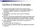 conflict of interest examples24
