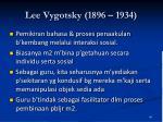 lee vygotsky 1896 1934
