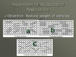 nanomaterials for structural applications22