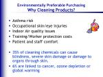 environmentally preferable purchasing why cleaning products