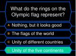 what do the rings on the olympic flag represent44