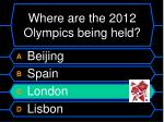 where are the 2012 olympics being held4