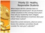 priority iii healthy responsible students27