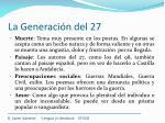 la generaci n del 2712