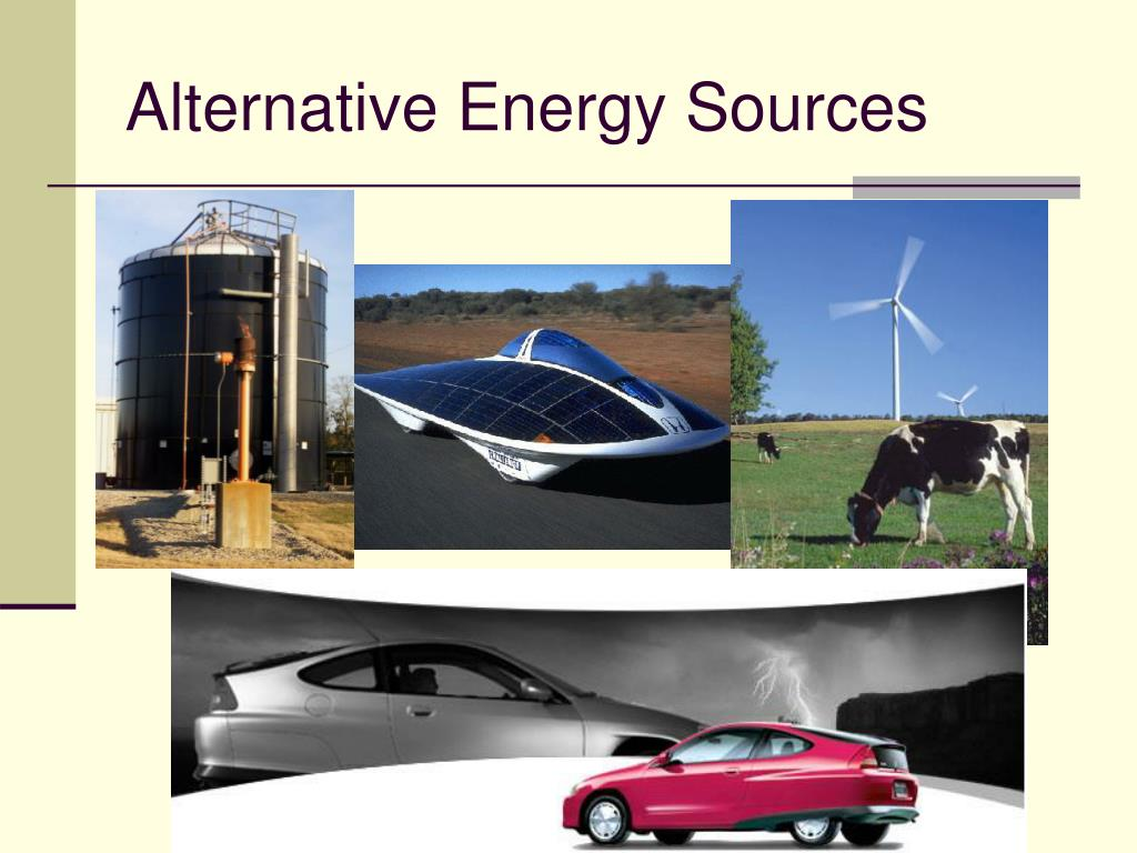 alternative energy sources l.