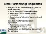 state partnership requisites