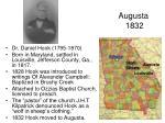 augusta 1832