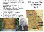 effingham cty savannah 1819