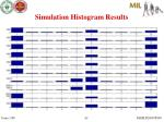 simulation histogram results