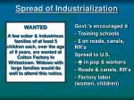 spread of industrialization
