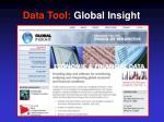 data tool global insight