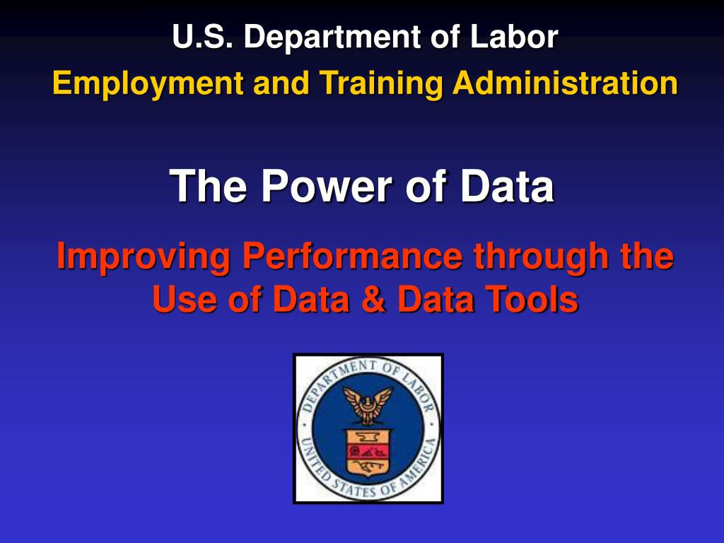 u s department of labor employment and training administration l.