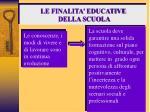 le finalita educative della scuola22