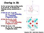 overlap in 3d