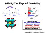 srfeo 3 the edge of instability