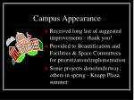 campus appearance