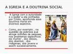 a igreja e a doutrina social