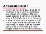 a teologia moral