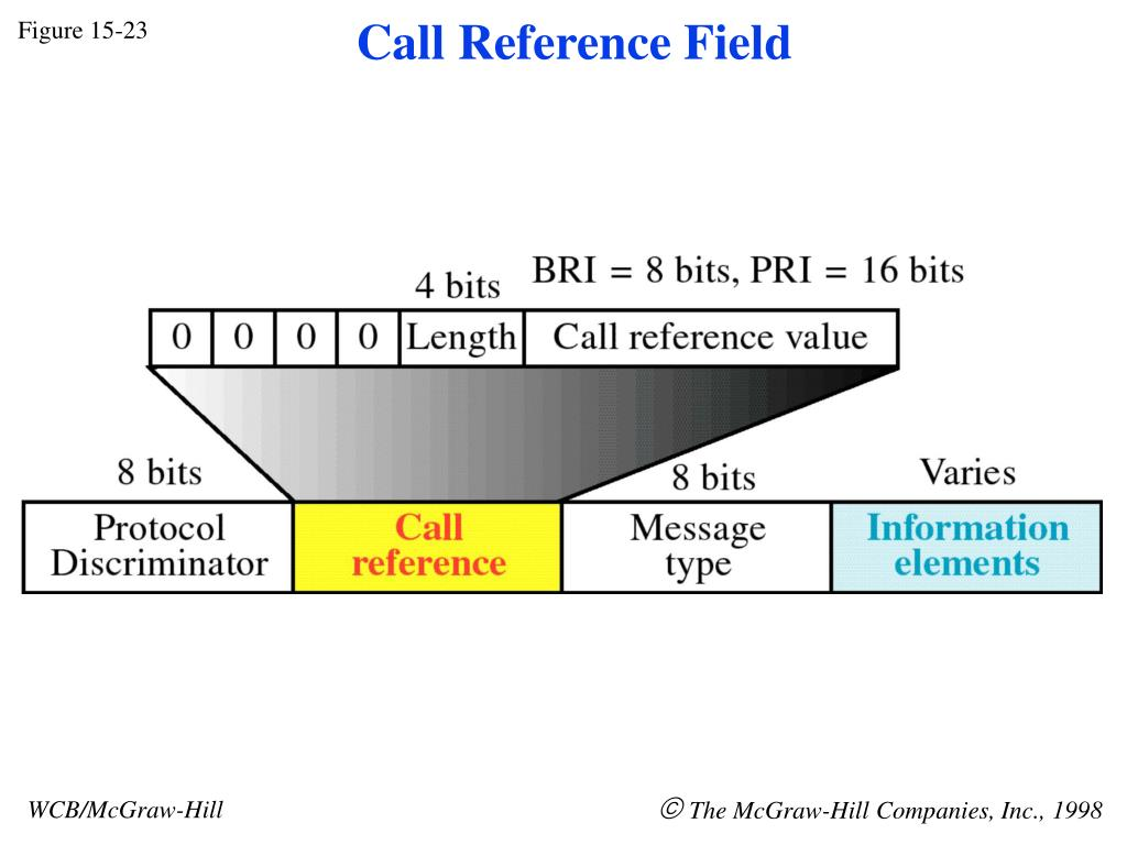 Call Reference Field