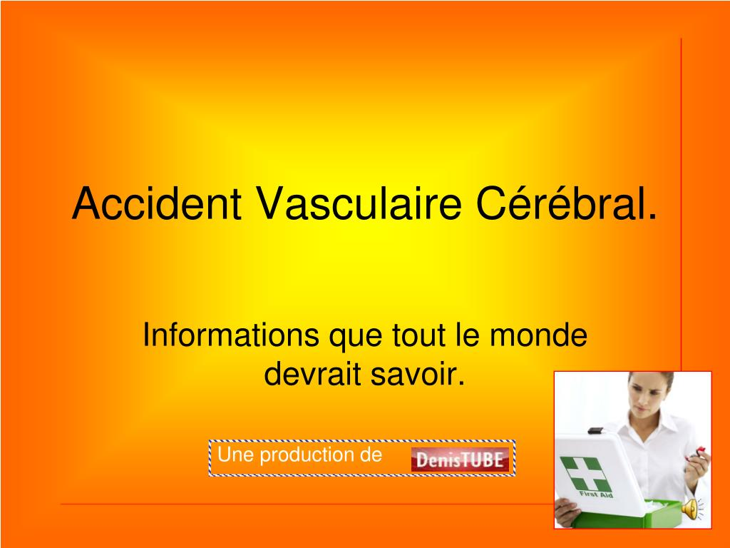 accident vasculaire c r bral l.