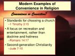 modern examples of convenience in religion5