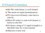 d channel contention23