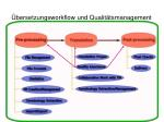 bersetzungsworkflow und qualit tsmanagement