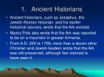 1 ancient historians