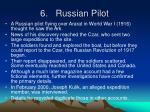 6 russian pilot
