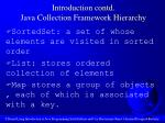 introduction contd java collection framework hierarchy6