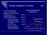 family migration in france 2 3