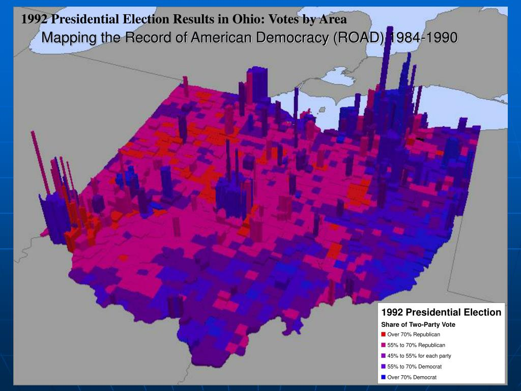 Mapping the Record of American Democracy (ROAD) 1984-1990