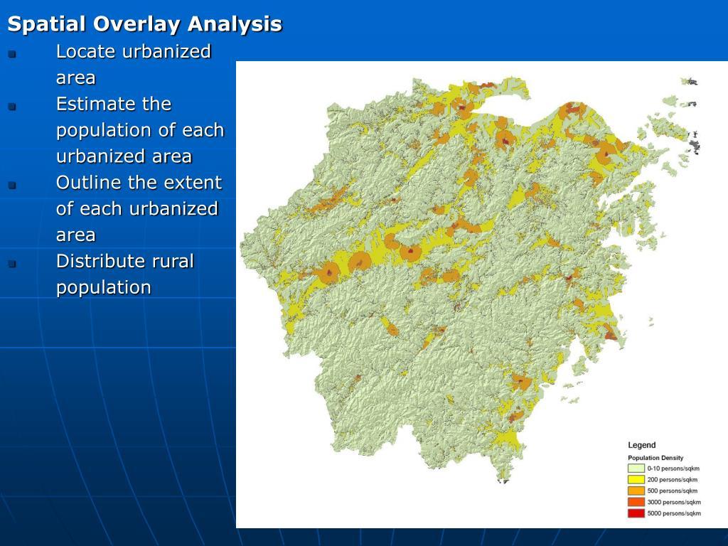 Spatial Overlay Analysis