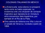 colonias italianas en m xico