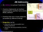 jbi addressing